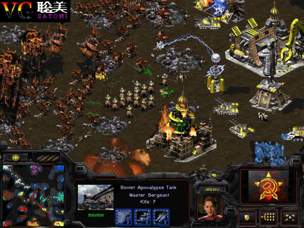 Red Alert 2 Starcraft Crossover