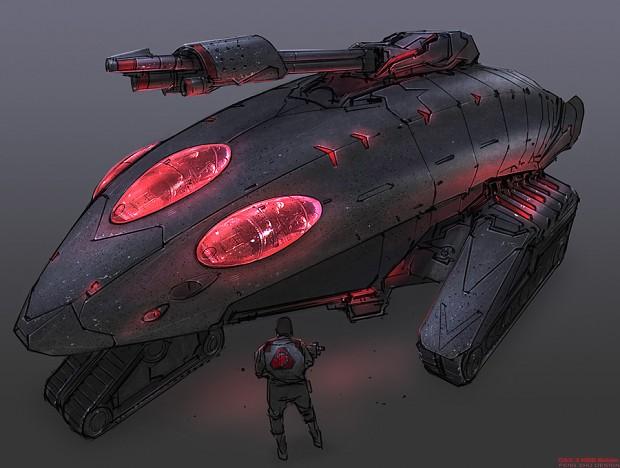 Nod Raider Tank Concept