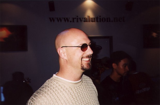 Joe Kucan with sunglass