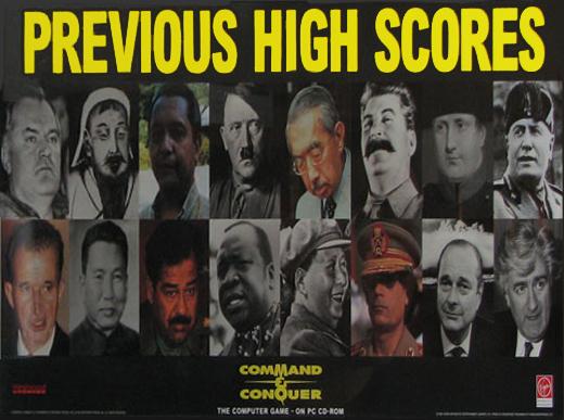 Previous High Scores