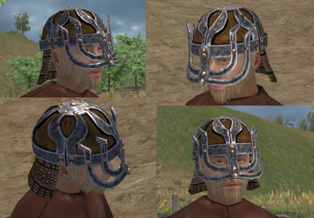 Viking Heavy Infantry Helmet
