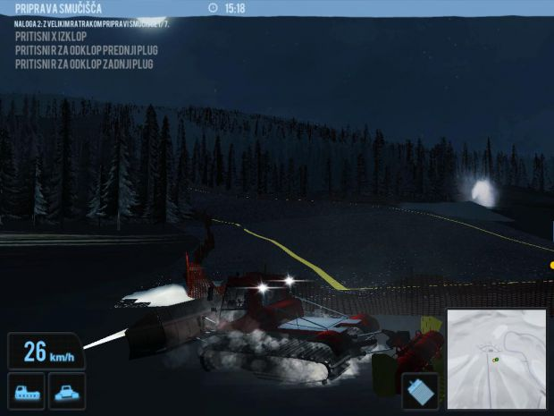 Ratrak Simulator