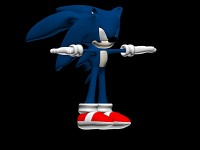 Sonic The Hedgehog 3d model