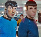 Old and New Spock