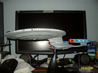 Enterprise 1701-D Model (Light & Sound)