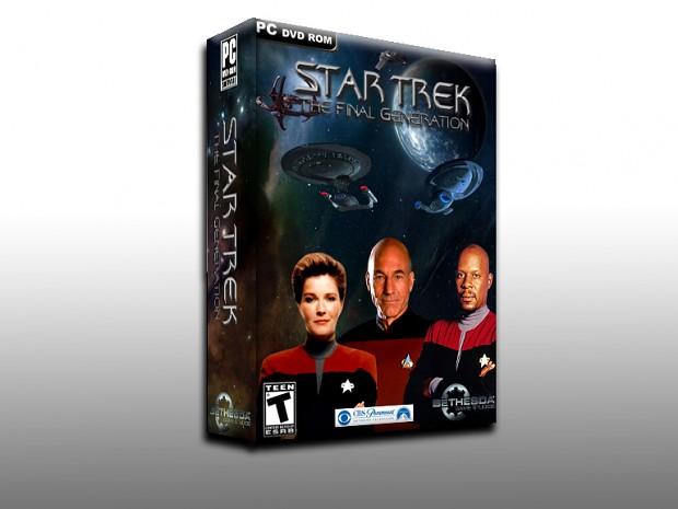 Star Trek Final Generation PC Game Box Art