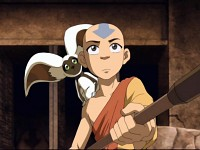 Aang - The Western Air Temple