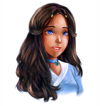 Katara - Anime style. I'm 99% identical, seriously