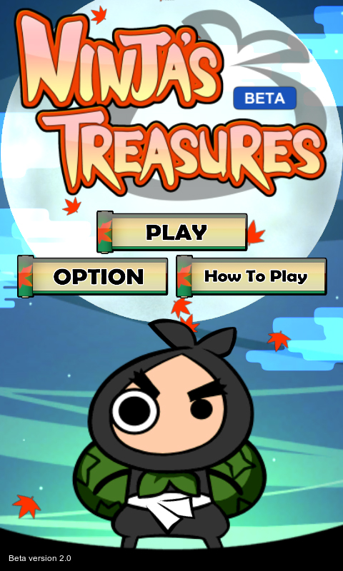 Ninja's Treasures - working title screenshots