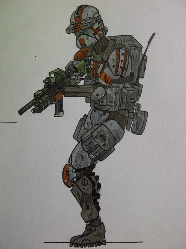 7th Sky Corps Shock Trooper