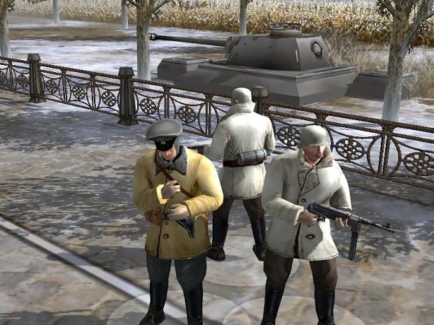 german troops budapest 1945
