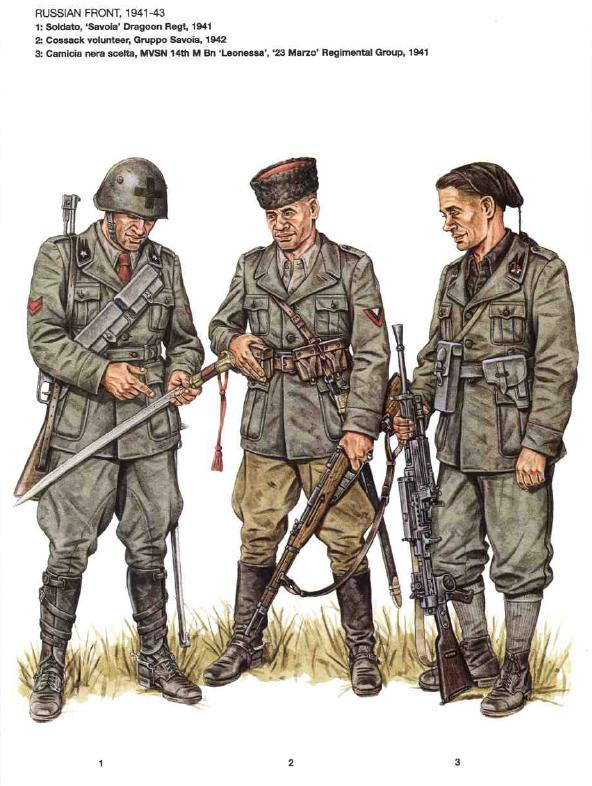 Italians on the russian front image ww2 reference group for Italian uniform