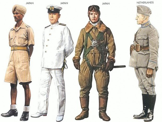 Japanese uniform - Personal collection - image - WW2 ...