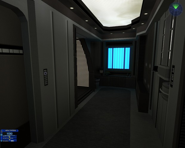 First Officer's Quarters
