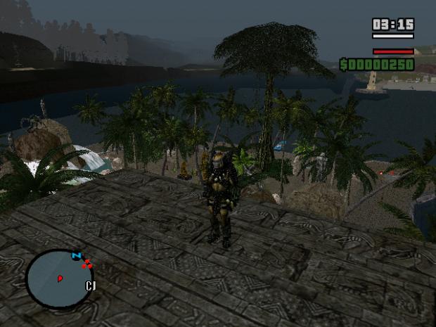 Predator Plain,Sky and UnderWater Island