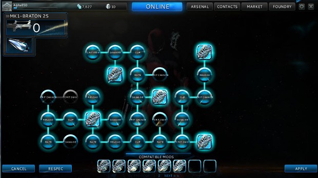 Fantome_SAS's warframe arsenal
