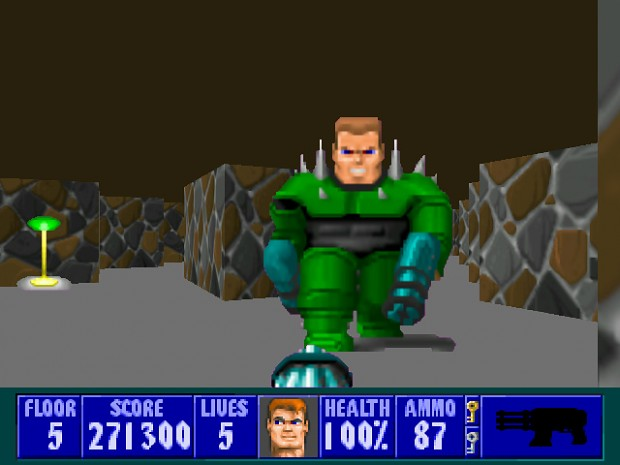 Wolfenstein 3d image old school games fans mod db for Wolfenstein 3d