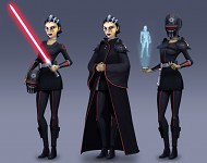 Star Wars Rebels - Barriss Offee - inquisitor