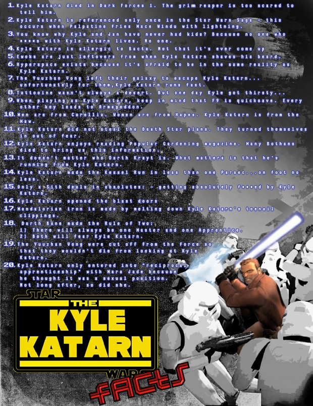 Kyle Katarn Facts