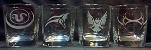 awesome goa'uld symbols glasses