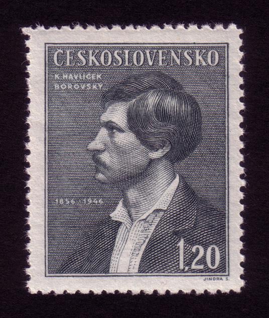 Československá známka - Karel Havlíček Borovský