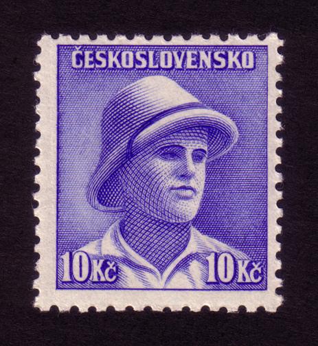 Československá známka - František Adámek