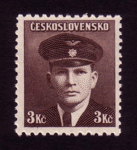 Československá známka - Jiří Král