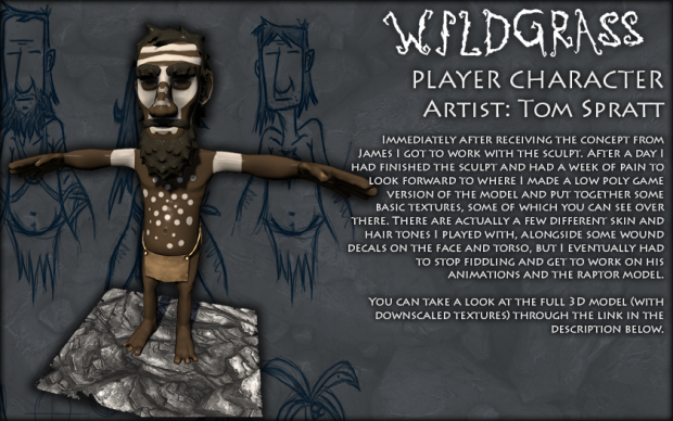 Caveman- Character Model
