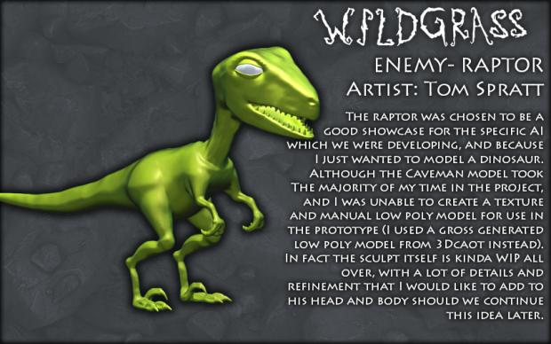 Caveman- Raptor Model