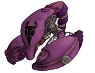 Irken Dreams Of Doom class battlecruiser