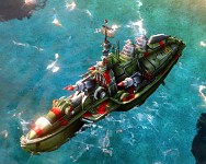 C&C Red Alert 3 Soviet Dreadnought