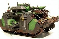 Chaos Nurgle Predator  conversion - pic 3