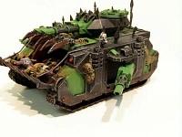 Chaos Nurgle Predator  conversion - pic 2