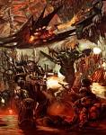 Black legion Space Marines - Dark battle
