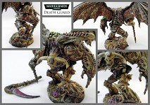 Death Guard Demon Prince model
