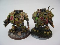 Dreadnoughts Nurgle