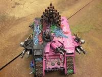Slaanesh Land Raider. >=D >=P >XD