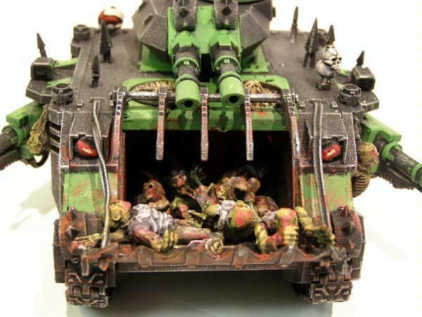 Chaos Nurgle Predator  conversion - pic 1