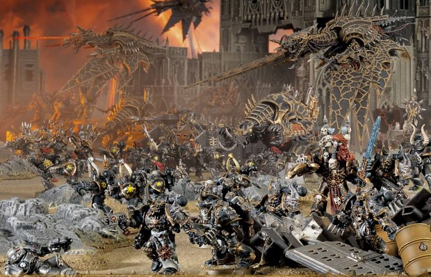Chaos Space Marines - Army Attacks pic 1