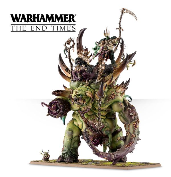 Nurgle from the past The Glottkin - Model