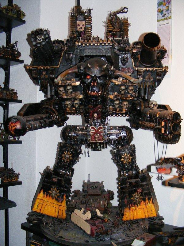 chaos warlord titan model
