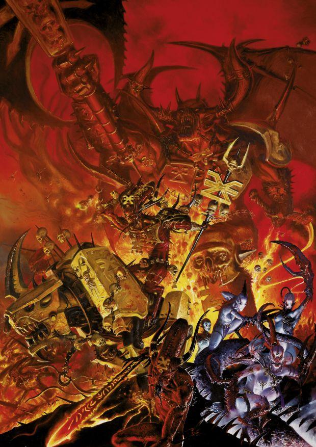 chaos khorne daemons