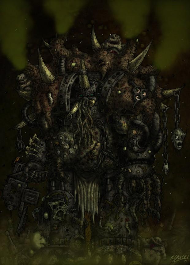 Death Guard Terminator Lord
