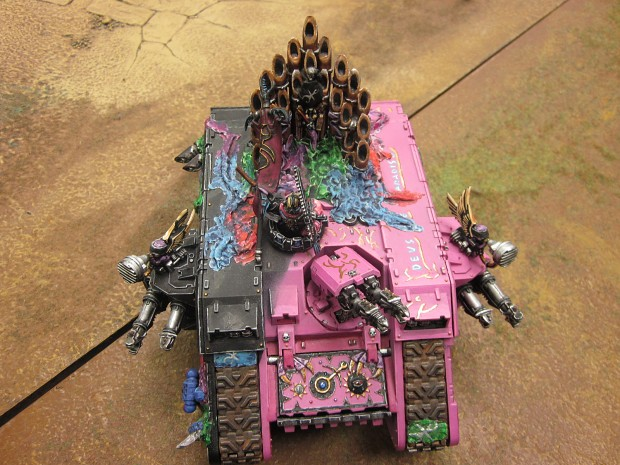 Slaanesh Land Raider. >=D >=P >XD