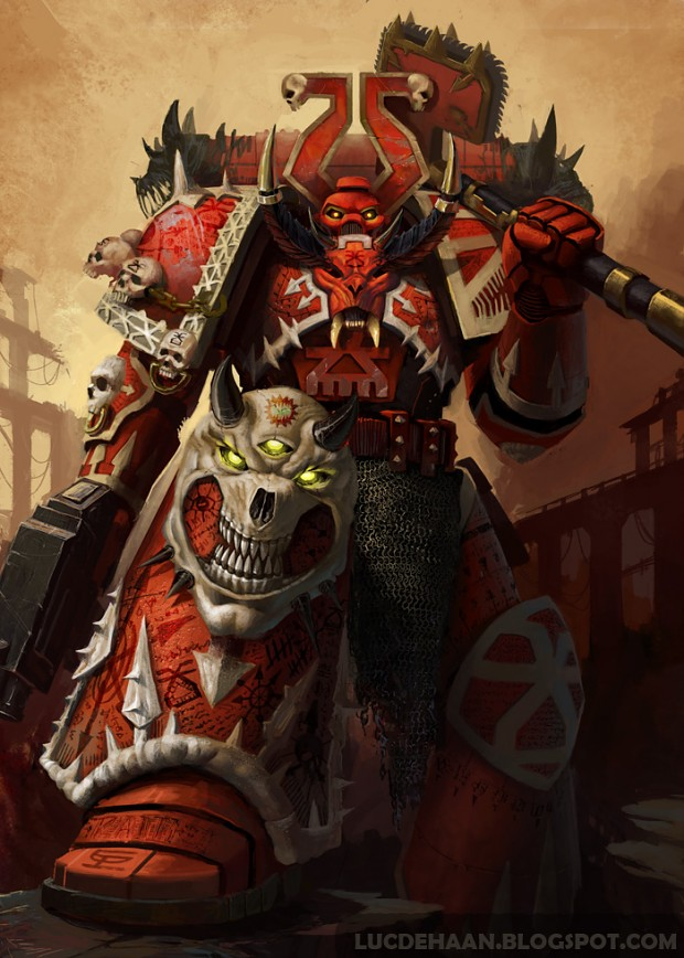 World Eater Image - Chaos Space Marines Army Fans Warhammer