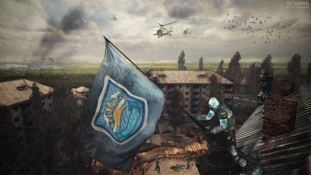 Flag on Limansk