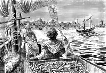 Fishermen by Constantinople