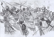 The crusaders attack Constantinople