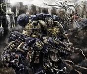 Ultramarine patrol wallpaper incredible warhammer