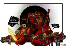Warhammer - Blood angels  - war time